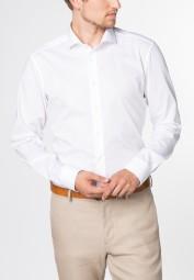 Hemd eterna Slim fit Weiß Extra langer Arm 72cm