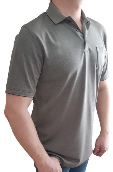 Poloshirt KITARO Olive mel. -in EXTRA LANG