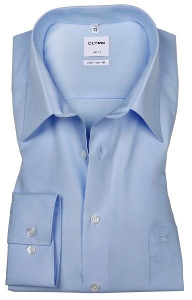 OLYMP Extra langer Arm 69 cm, Hemden Luxor comfort fit, Hellblau