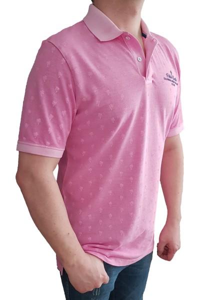 Poloshirt KITARO Altrosa-in EXTRA LANG