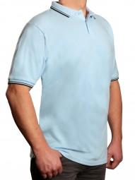 Poloshirt KITARO Hellblau--EXTRALANG
