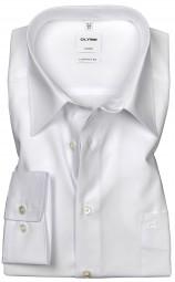 Hemd OLYMP Luxor comfort fit Weiß Extra langer Arm 69cm