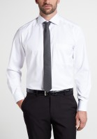 Hemden Extra langer Arm 68 cm, E T E R N A Comfort Fit, Weiss-BLICKDICHT