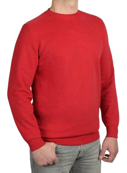 Sweatshirt in extra lang von KITARO - Rot