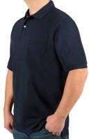 Poloshirt KITARO Marine --Extra Lang
