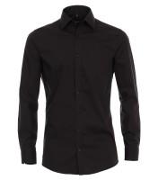 Hemden Extra langer Arm 72 cm, Venti Body Fit, Schwarz