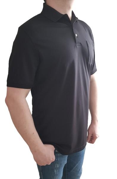 Poloshirt KITARO Schwarz--in EXTRA LANG