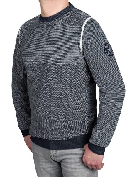 Extra Lang, Pullover in Blau von Kitaro