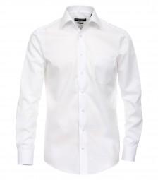 Hemd Casa Moda Modern Fit Weiß Extra langer Arm 72cm