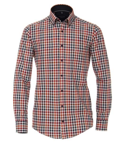 Freizeithemd, Extra langer Arm 72 cm, Casa Moda Casual Fit, Kariert
