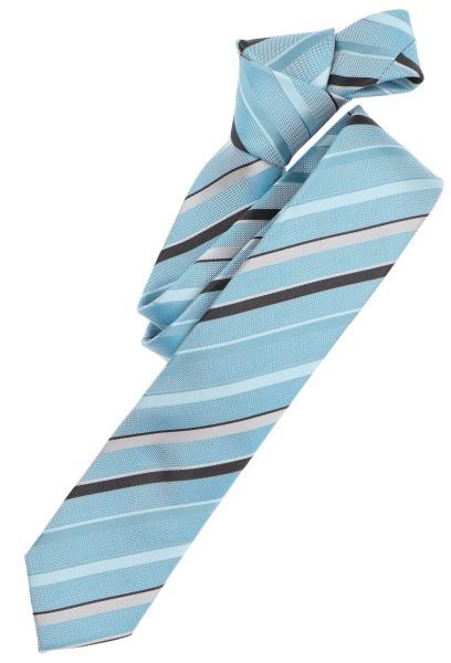 Casa Moda Krawatte Streifen Türkis Extralang