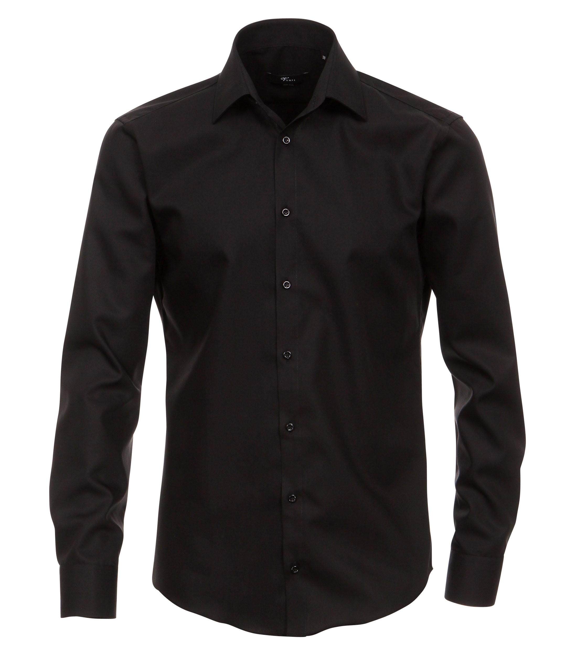 extra langer arm 72 cm hemd venti modern fit schwarz. Black Bedroom Furniture Sets. Home Design Ideas