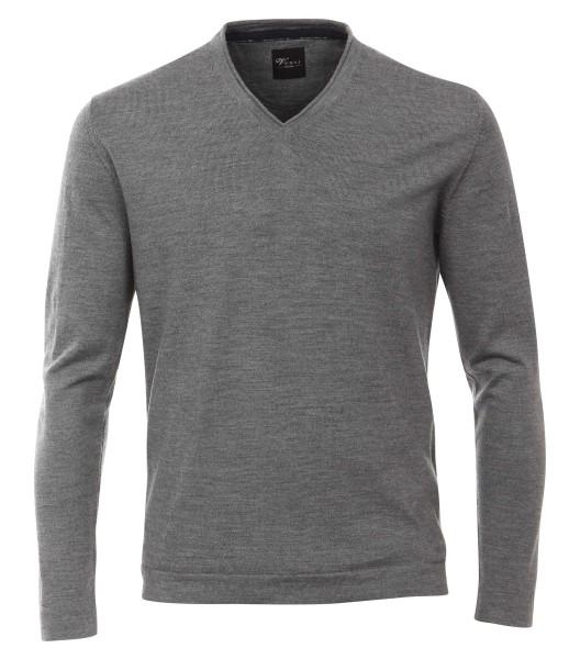 Pullover Extra langer Arm 72 cm, Venti, Grau