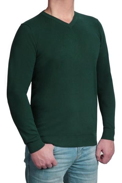 Extra langer Pullover, K I T A R O-V-Ausschnitt, Uni