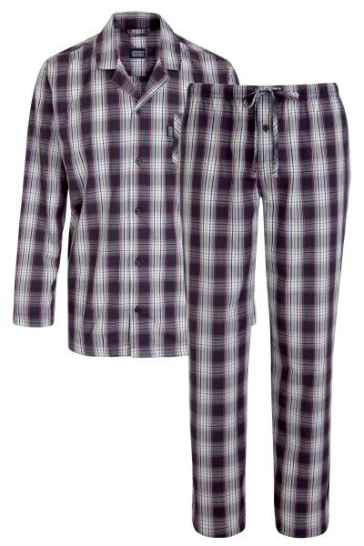 Pyjama kariert von JOCKEY in extra lang