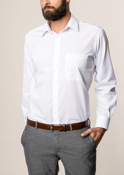 Hemden Extra langer Arm 72 cm, E T E R N A Comfort Fit, Weiss