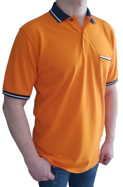 Poloshirt KITARO Orange-in EXTRA LANG