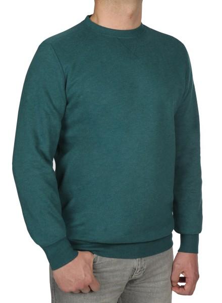 Sweatshirt in extra lang von KITARO - Grün