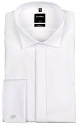 Hemd OLYMP Luxor modern fit Weiß Kläppchenkragen ELA 70cm