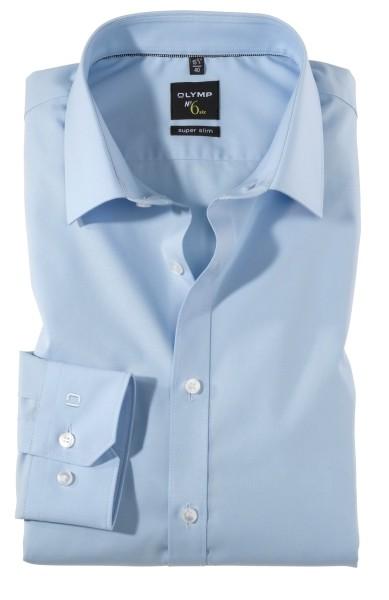 Hemden Extra Langer Arm 69 cm, OLYMP No. Six super slim, Hellblau