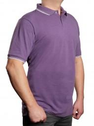 Poloshirt KITARO Purple--EXTRALANG