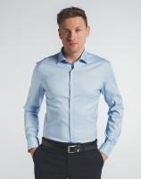 Hemden Extra langer Arm 72 cm, E T E R N A Slim Fit, Hellblau
