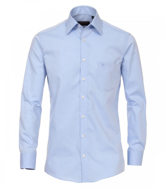 Hemd Casa Moda Comfort Fit Hellblau Extra langer Arm 69 cm