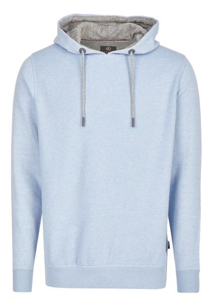 Extra Lang, Sweatshirt mit Kaputze in Hellblau von Kitaro