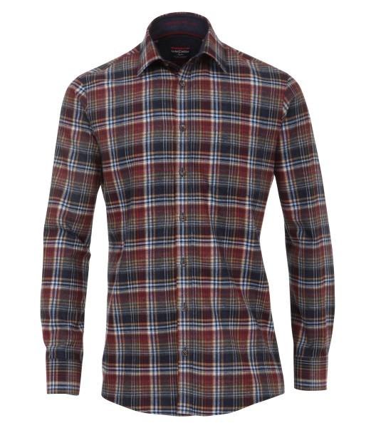 Freizeithemden (Flanell) Extra langer Arm 72 cm Casa Moda Comfort Fit, Kariert