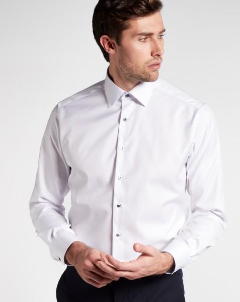 Hemden Extra langer Arm 72 cm, E T E R N A modern fit, Weiss-BLICKDICHT