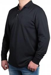 Poloshirt K I T A R O Grau EXTRALANG