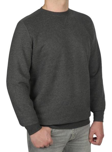 Sweatshirt in extra lang von KITARO - Anthrazit