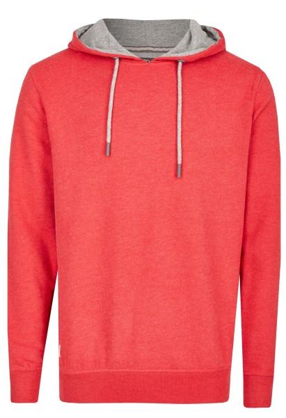 Extra Lang, Sweatshirt mit Kaputze in Rot von Kitaro