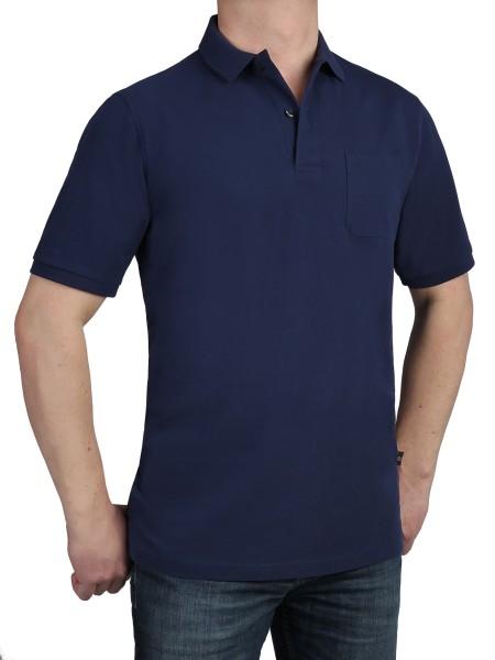 Poloshirt KITARO Blau --EXTRALANG