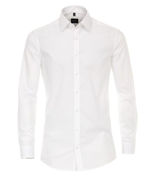 Hemden Extra langer Arm 72 cm, Venti Body Fit, Weiss