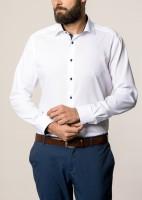 Hemden Extra langer Arm 68 cm, Eterna modern fit, modisch Weiß 39