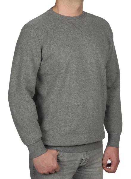 Sweatshirt in extra lang von KITARO - Grau