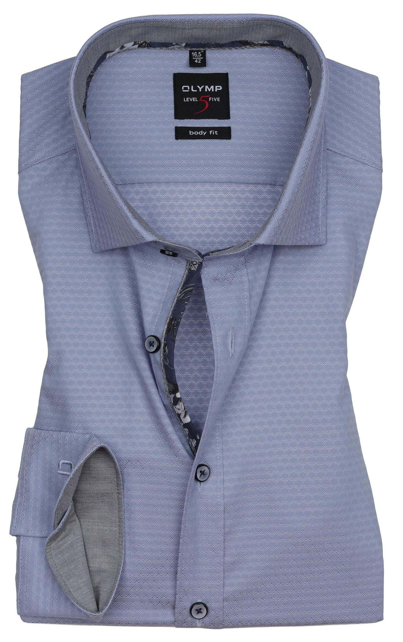 hemden extra langer arm 69 cm olymp level 5 body fit. Black Bedroom Furniture Sets. Home Design Ideas