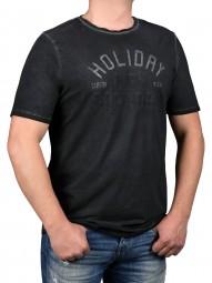 T-Shirt KITARO Anthrazit -- EXTRALANG