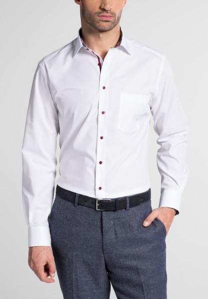 Hemden Extra langer Arm 72 cm, E T E R N A Modern Fit, modisch Weiss