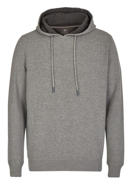 Extra Lang, Sweatshirt mit Kaputze in Grau von Kitaro